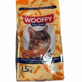 Wooffy Gatos E Gatinhos Carne