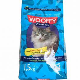 Wooffy Gatos E Gatinhos Peixe